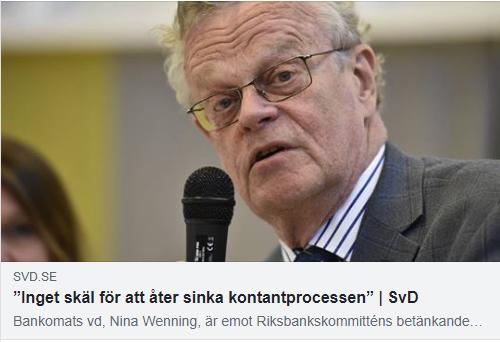 Björn Eriksson svar på nina wenning