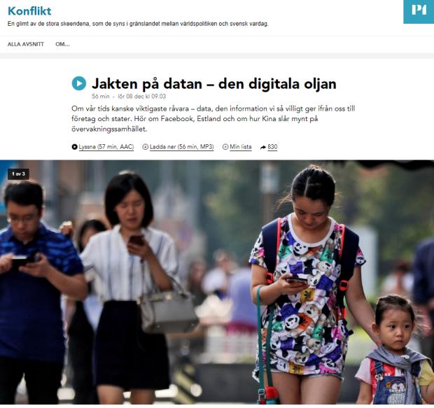 Jakten på data - bild till webb