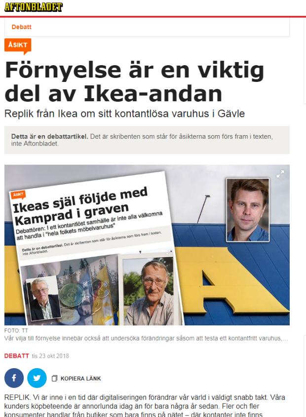 motreplik IKEA
